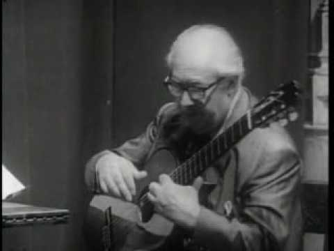 Andrés Segovia (Master Class 1965) with aldo minella (part 2)