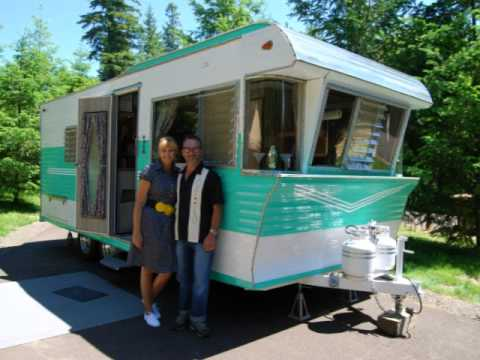 Coach House Rv >> Restored 1962 Terry Vintage Trailer - YouTube