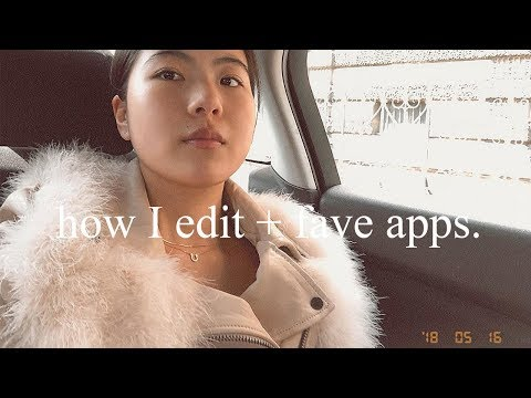 How I edit my Instagram photos + fave apps | HeyDahye