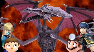 Ridley for Smash (unexpected)