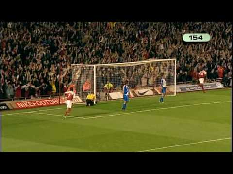 Thierry Henry Legend All Arsenal Goals Part 5