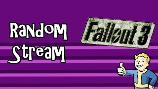 The Quest For Tater-Tots {Fallout 3 Stream #2 w/ BlitzFox}
