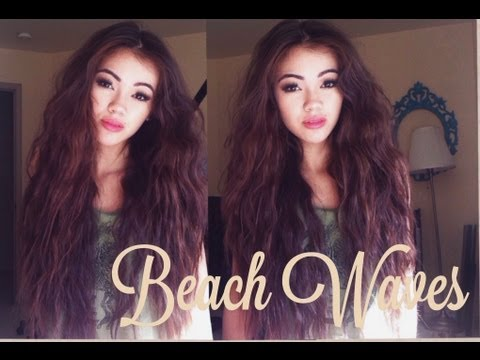 Beach Waves Hair Tutorial
