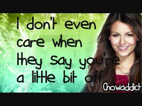 Victoria Justice You're the reason lyrics
