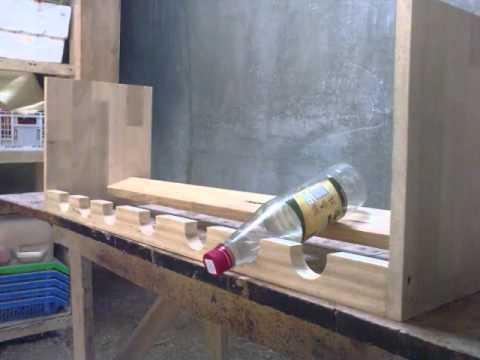 Fotos de botellero youtube - Botelleros de madera rusticos ...