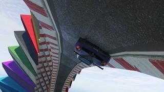 STILSTAAN OP DE RAMP! (GTA V Online Funny Races)