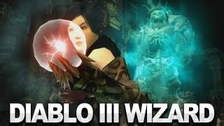 Diablo III - The Wizard Spotlight Video