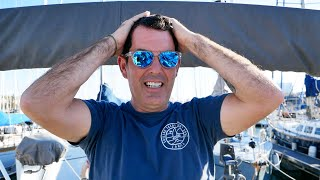 Losing Our Engine In The Worst Possible Place | Sailing Barcelona | Sailing Ruby Rose