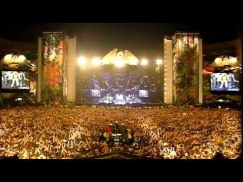 Queen & Robert Plant - Crazy Little Thing Called Love (Freddie Mercury Tribute Concert)
