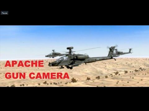 ArmA 2 - Apache gun camera (compilation)