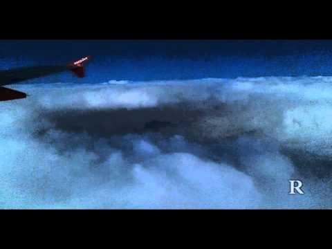 Гроза, вид сверху [Storm, top view]