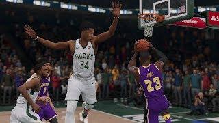 Los Angeles Lakers vs Milwaukee Bucks NBA LIVE Full Game Highlights