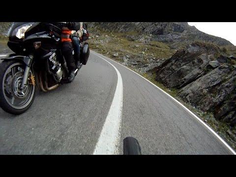 Aventuri pe bicicleta : Coborare cu bicicleta pe Transfagarasan