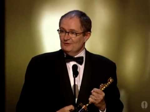 "Jim Broadbent winning Best Supporting Actor for ""Iris"""