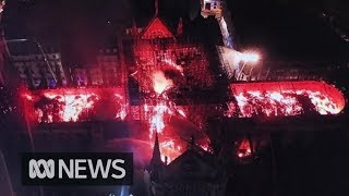 Notre Dame fire: France will rebuild historic cathedral, says President Macron | ABC News