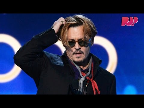 Johnny Depp Drunk At Hollywood Film Awards? video