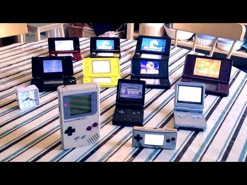 3DS XL Real Time Battery Test with Other Nintendo Handhelds (FGTV 2.11)