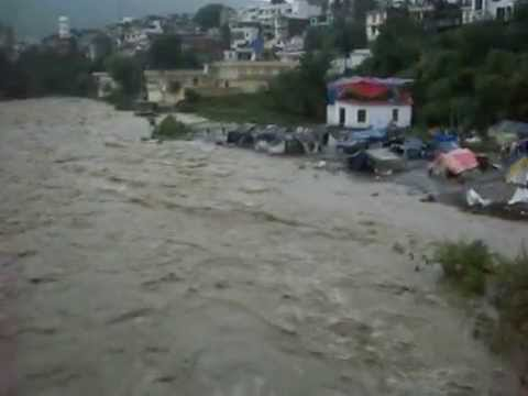 Rajouri (J&K)  River lashing Due to Havy Rain  2014