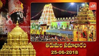 Today In Tirumala | Tirumala Info 25th June 2018 | TTD News | Tirupati Temple
