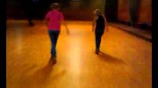 Brooklyn and Jessica fast skating