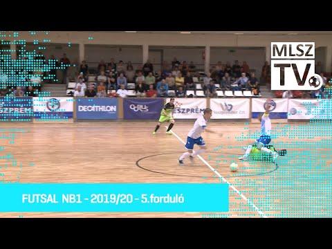 Futsal Veszprém – Haladás VSE | 0-1  | Férfi Futsal NBI. | 5. forduló | MLSZTV