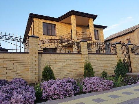 Шикарный дом 344 кв.м. в ст. Анапская на участке 10 соток . Ремонт. Мебель. Цена 19 000 000 руб.