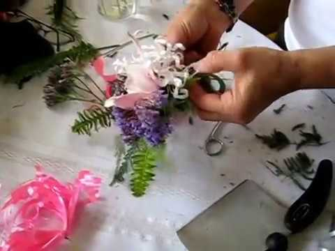 How to make a Corsage / Boutonniere