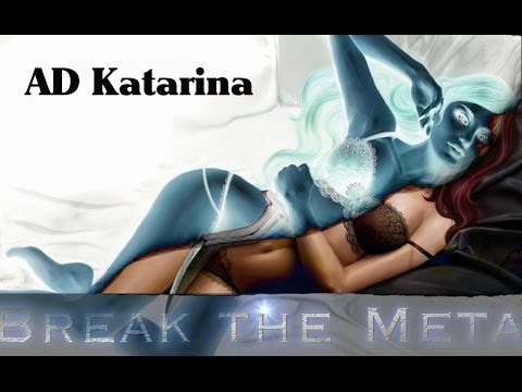 ♥ Break The Meta #9 - Deutsch Hd - Season 4 - Ad Katarina  - Let's Play Lol video