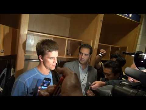 Dodgers pitcher Zack Greinke on hitting Carlos Quentin, resultling brawl and broken collarbone. Jerry Hairston on the comment from a Padres player that set h...