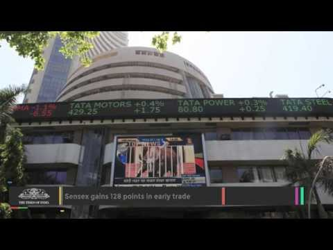 Sensex Gains 128 Points In Early Trade - TOI