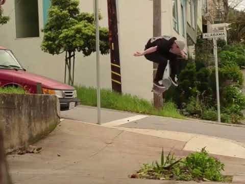 SF street clips of @codymcentire 🎥: @19thavenue & @tadashiphoto   Shralpin Skateboarding