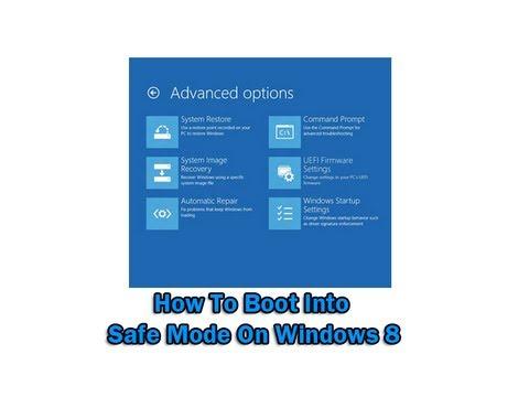 How to Restart Windows in Safe Mode  Online Tech Tips
