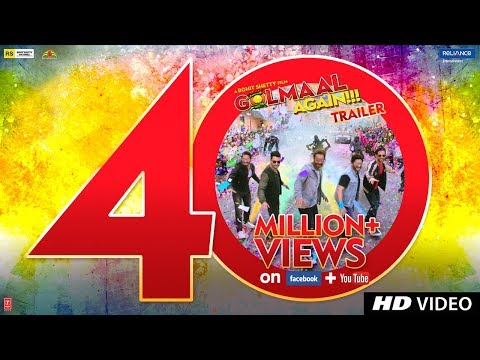 Golmaal Again Official Trailer
