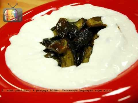 Yoğurtlu Zeytinyağlı Patlıcan Yemeği Tarifi