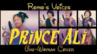"""Prince Ali"" One-Woman Disney Cover Song (Robin Williams Impression) - Aladdin 