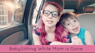 Babysitting while moms gone | FAIL I left my brother behind!
