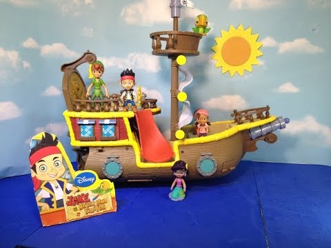 JAKE AND THE NEVERLAND PIRATES Deluxe Bucky Playset a Disney Junior Jake Toy