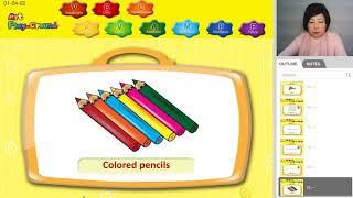 Art Materials for Kids.