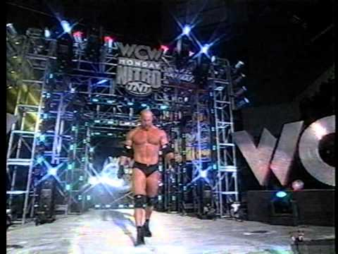Bill Goldberg Vs Raven - Monday Nitro - April 20, 1998 - Hq Video sound With Pre-match Hype video