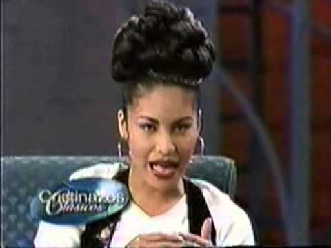 Selena Quintanilla Perez Christina Interview video