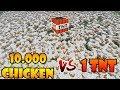 NGELEDAKIN 10.000 AYAM DENGAN SATU TNT!! SIAPA PEMENANGNYA? MP3