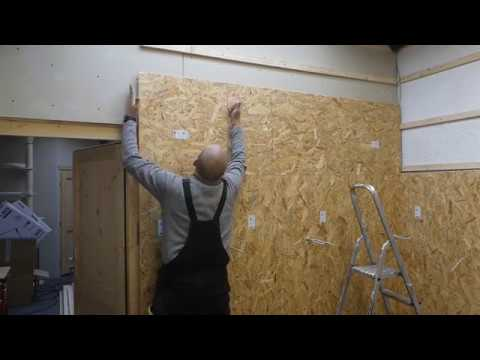 Osb Fußboden Werkstatt ~ Fußboden vom dachboden mit osb platten verkleiden