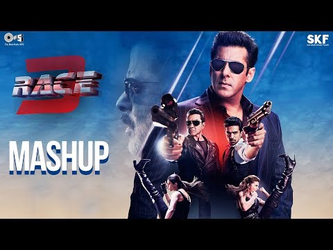 Race 3 Official Mashup   Kiran Kamath   Anil Kapoor, Salman Khan, Jacqueline, Bobby, Daisy, Saqib