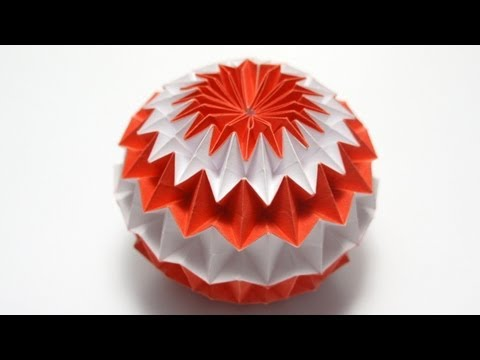 Origami Magic Ball (Dragon s Egg by Yuri Shumakov)