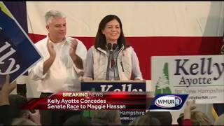 Ayotte concedes Senate race to Hassan