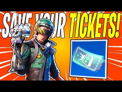How To Farm Hit The Road Tickets! + Why You Should Save Them | Fortnite Save The World