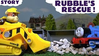 Thomas and Friends Toy Trains Accident & Paw Patrol Stop Motion Rescue Toys Stories ToyTrains4u