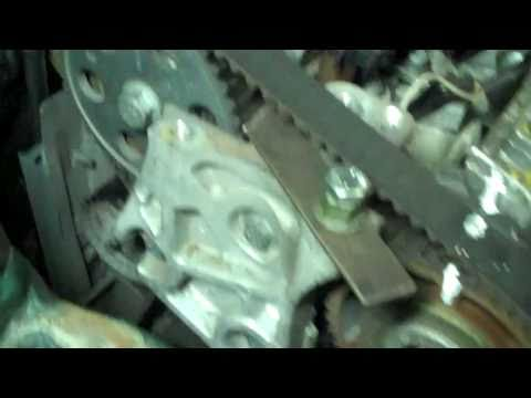 RENAULT MEGANE 19 dTi TIMING BELT INSTALLATION