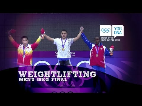 Mens Weightlifting 69Kg Final - Singapore 2010 Youth Olympic Games Image 1