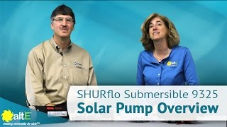 SHURflo 9325 Submersible Solar Pump Overview